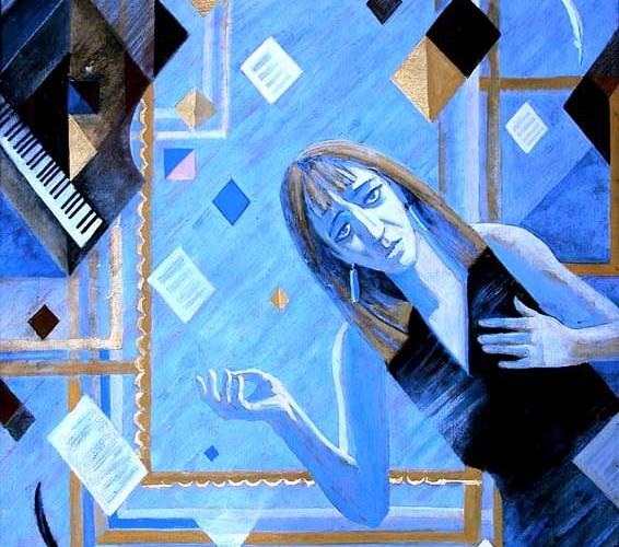 Портрет работы Германа Травникова